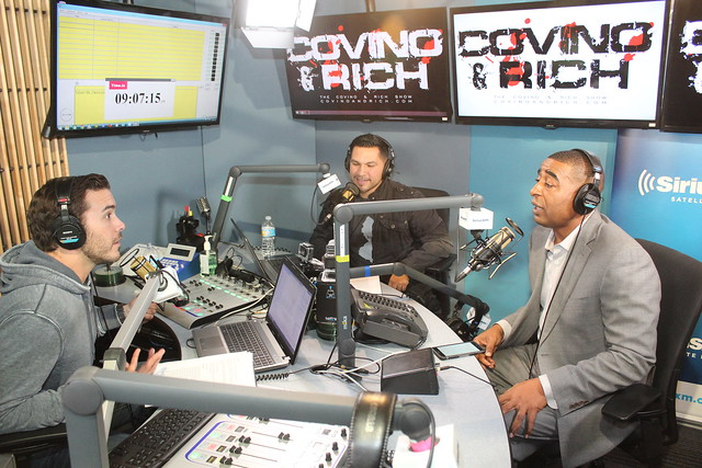 Cris Carter on the Covino & Rich Show
