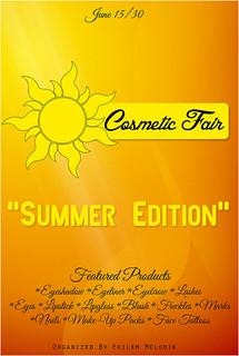 Cosmetic Fair Summer Edition