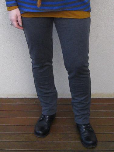 StyleARC Elle pants in Spotlight japanese ponte