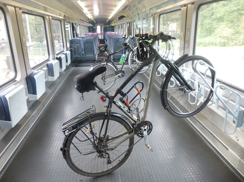 Netherlands - bike on trains