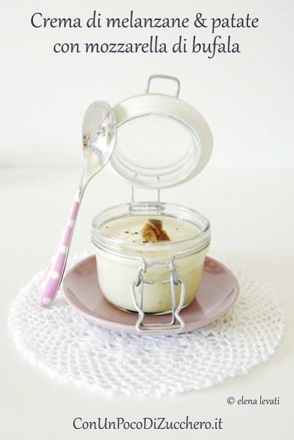 Crema di melanzane e patat