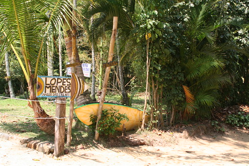 The final leg to the famous Lopes Mendes Beach