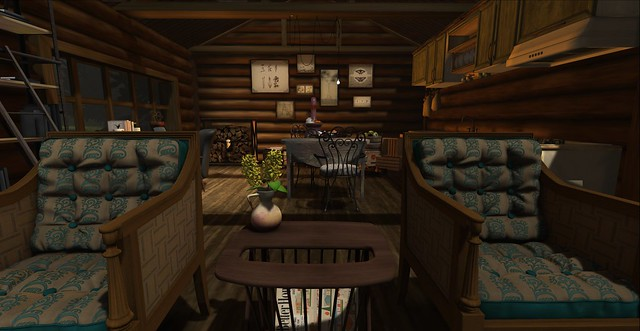 Rustic Lodge - Kitchen Entry (J)