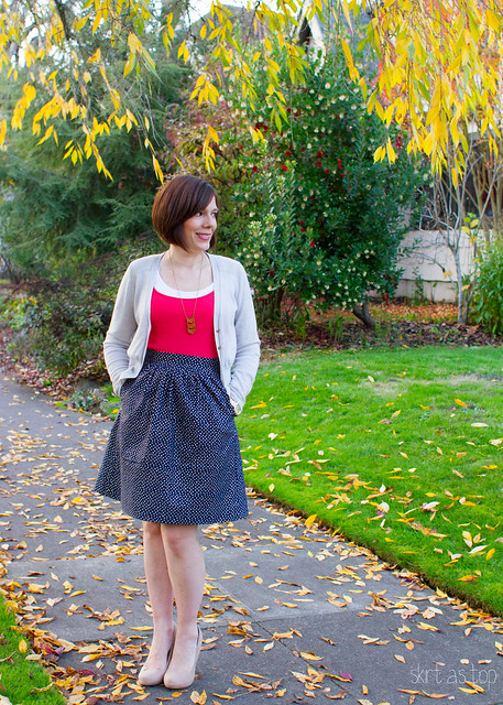 confetti sparkle everyday skirt