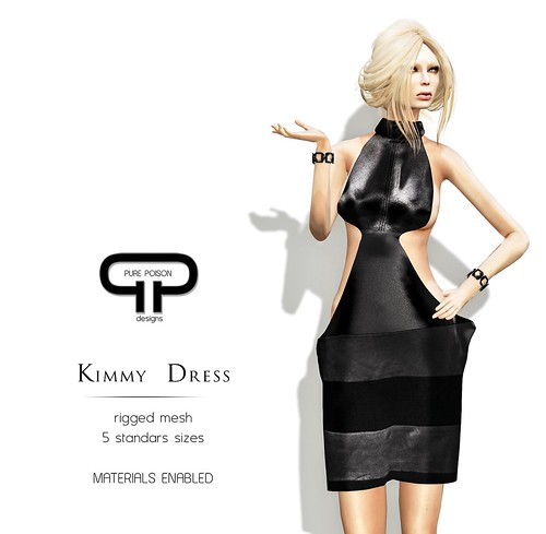 Pure Poison - Kimmy Dress - 5 models available