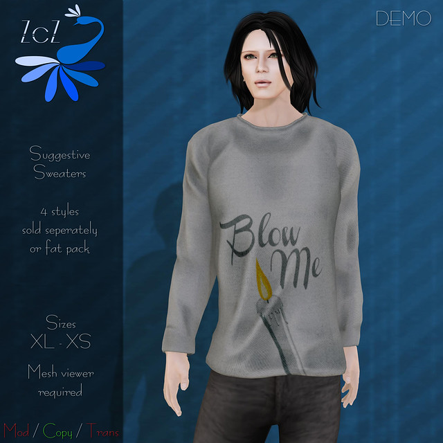 ZcZ Suggestive Sweaters