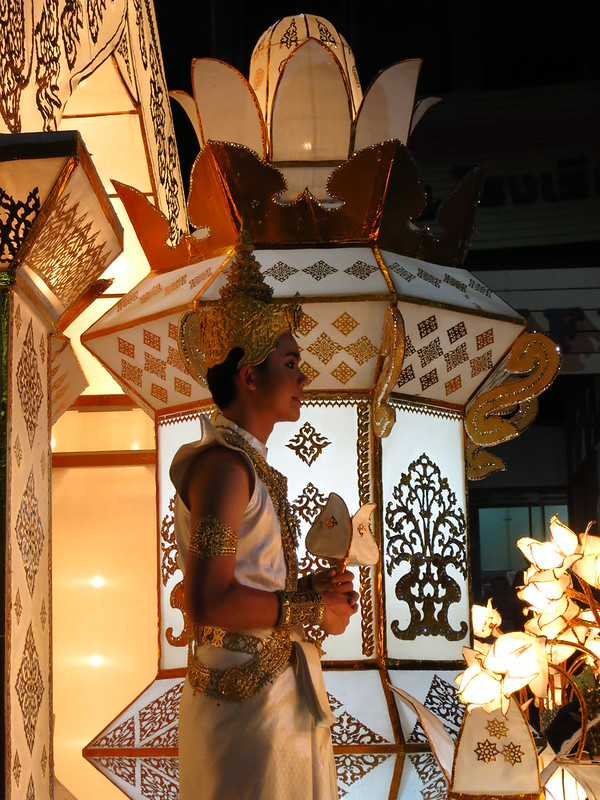 Chiang Mai, Thailand: Loi Krathong Day 1