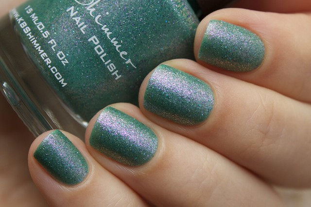 02 KBShimmer Teal Another Tail swatches