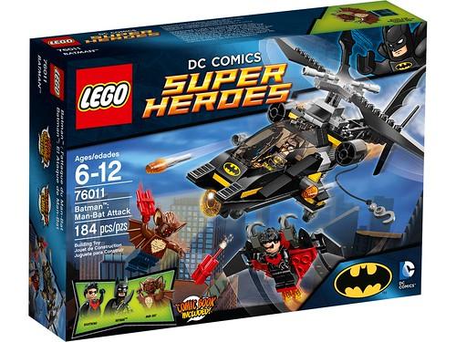 76011 Batman Man-Bat Attack BOX