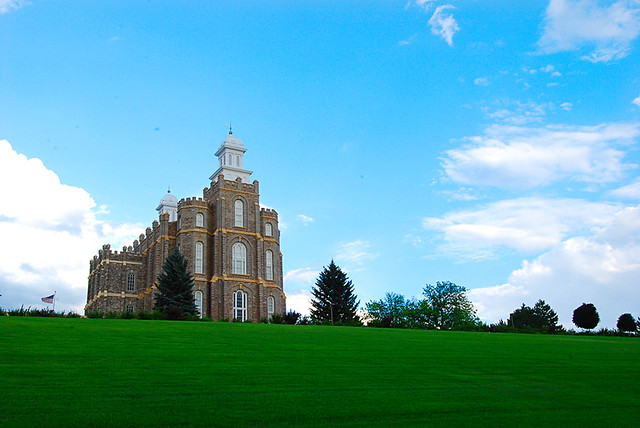 LDS Temple in Logan, Utah 1