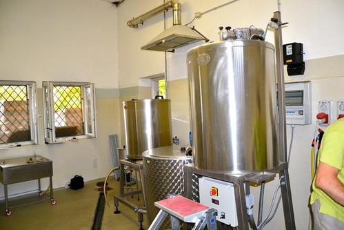 Impianto birrificio Lungo Sorso