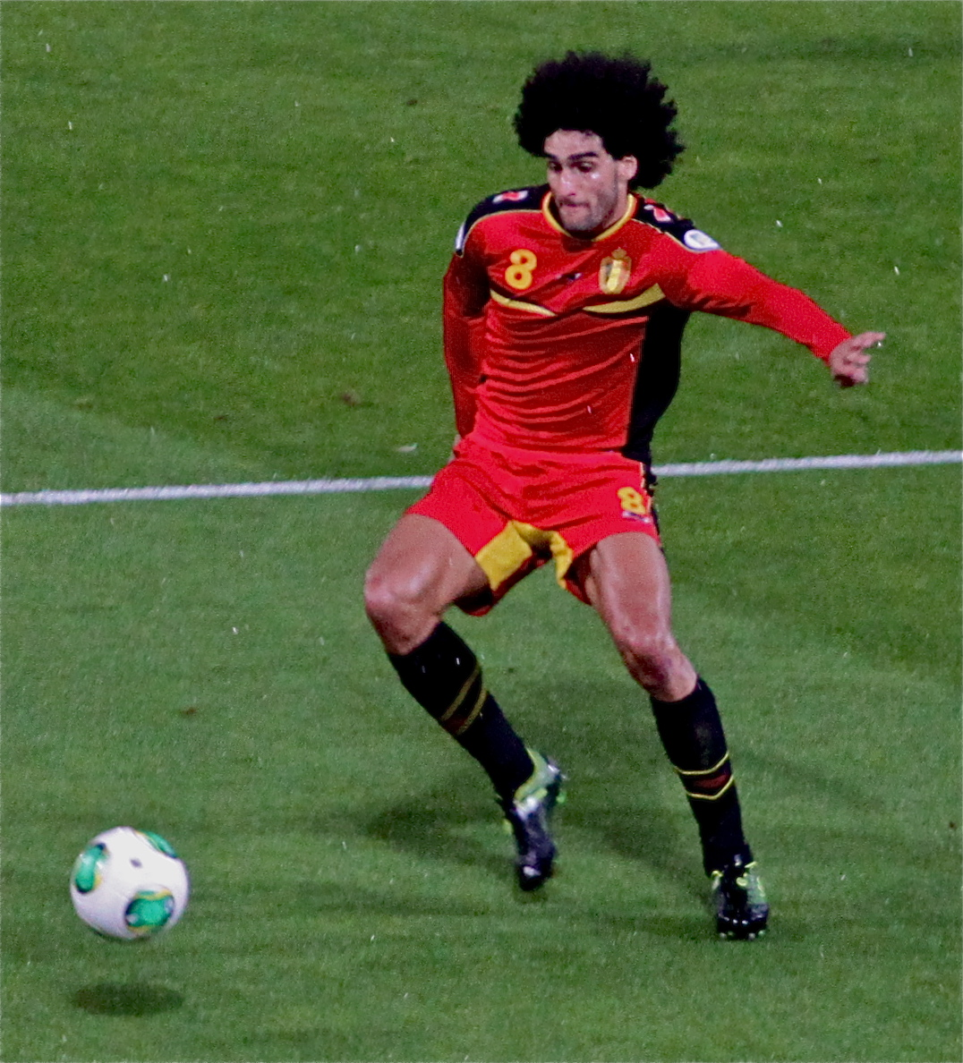 Marouane Fellaini | Scotland V Belgium [2014 World Cup Qualifier Brazil]