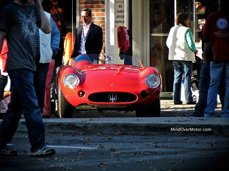 Maserati 300S at the Scarsdale Concours d'Elegance