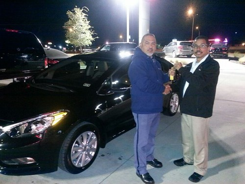 Thank you to Armando Salazar on your new car from Rudy Armendariz and everyone at Round Rock Kia! #NewCarSmell by RoundRockKia