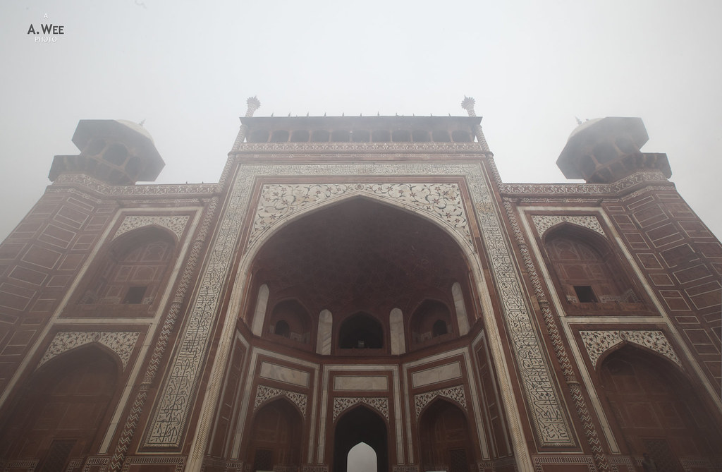 Close up of the Main Gate