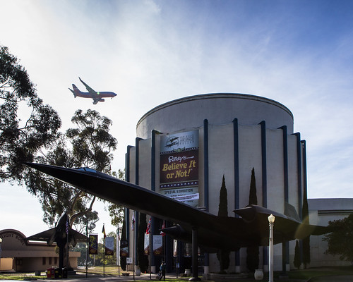 San Diego Air and Space Museum by Christopher OKeefe
