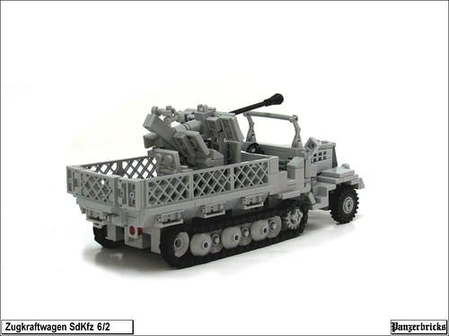 SdKfz 6/2 FlaK 36 37mm. de Panzerbricks