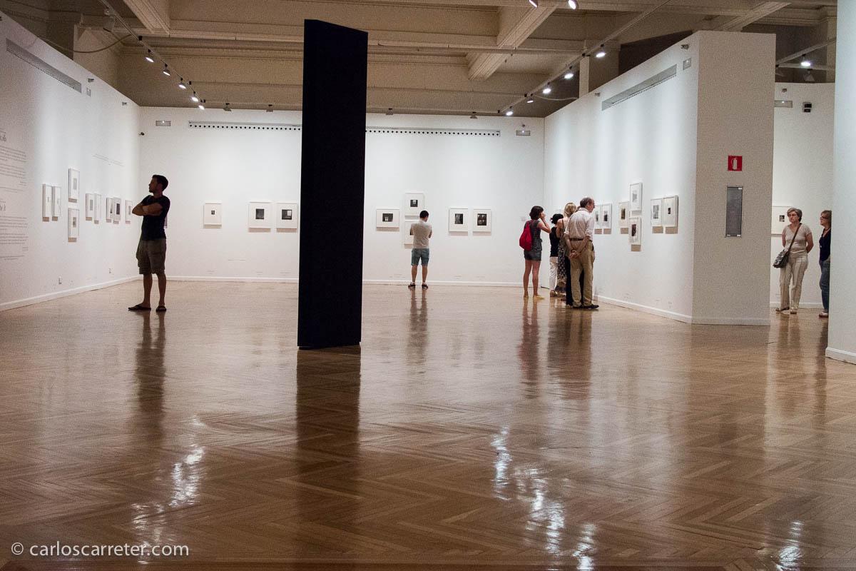 Weston y Callahan en el Círculo de Bellas Artes