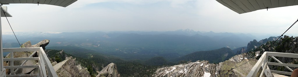 From the Fire Lookout, Mt. Pilchuck