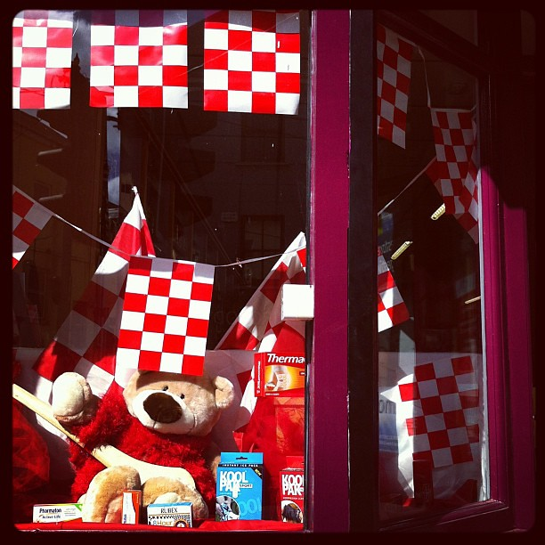 Red and white to cheer on our lads this Sunday! #cork