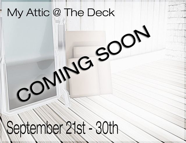 My Attic September Edition COMING SOON
