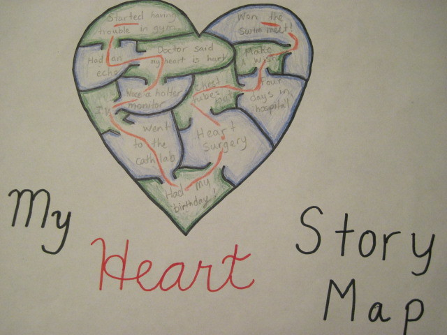 Heart Story Map