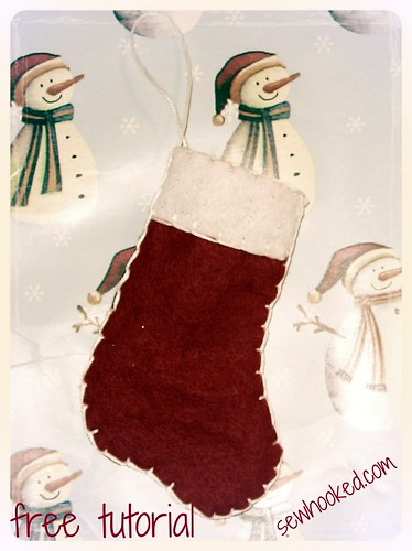 Stocking Ornament Tutorial