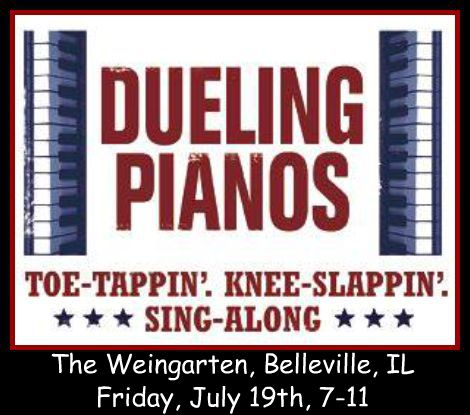 Dueling Pianos 7-19-13