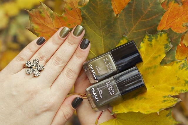 12 Chanel Alchimie + Mysterious swatches