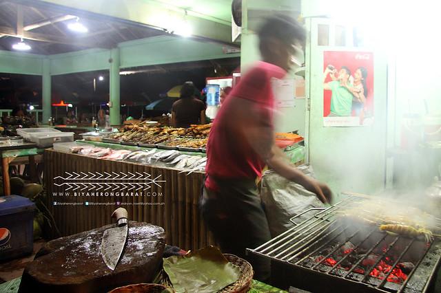 Seafood restaurant grill in Baybay Roxas City Capiz