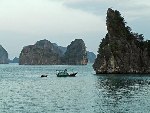 seen while cruising Ha Long Bay in Vietnam