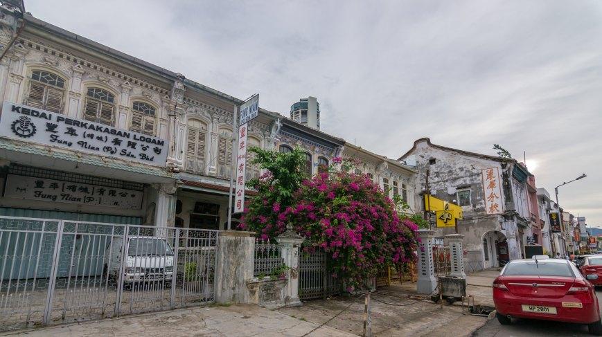 Old colonial buildings - George Town, Penang