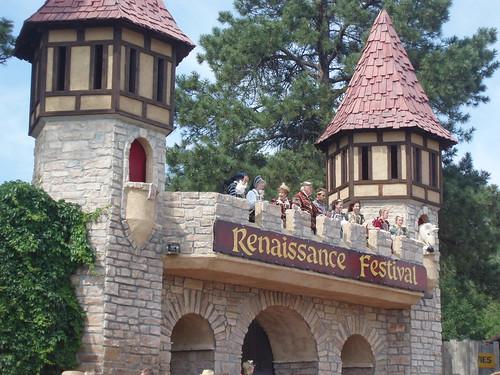 Colorado Renaissance Festival: Entrance