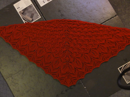 Conifer Shawl