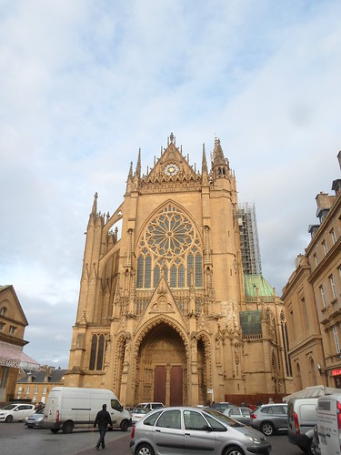 West Facade, Metz Cathedral