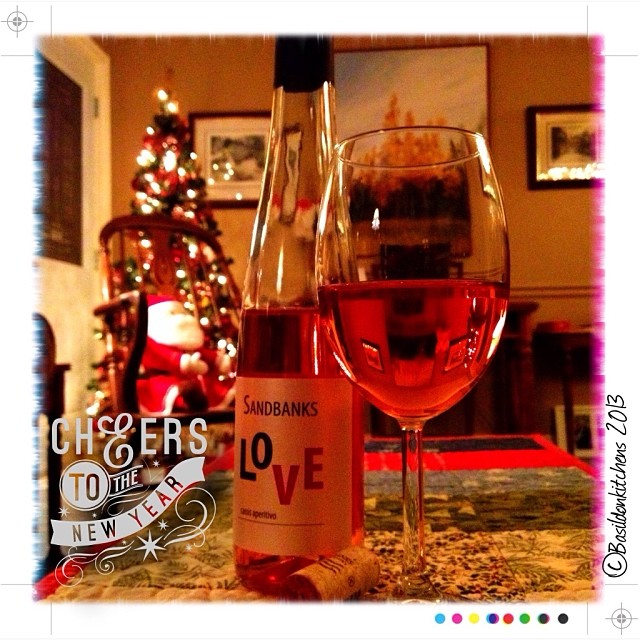 Dec 31 - celebrate {goodbye to 2013; cheers to 2014} #fmsphotoaday #celebrate #cheers #ctyw #princeedwardcounty #sandbankswinery #love #newyears