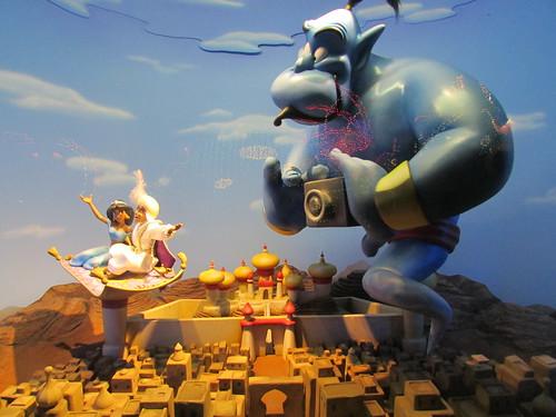 Aladdin diorama