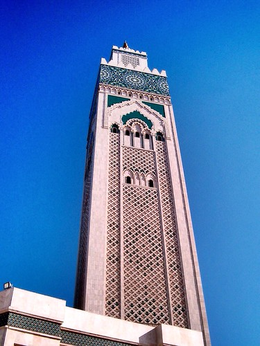Mosque Hassan II by SpatzMe
