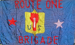 Route 1 Brigade Banner: 1972