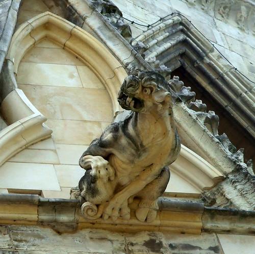 York Minster gargoyle 2