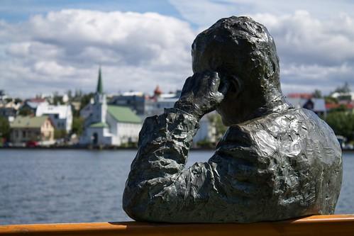 Reykjavik City Pond