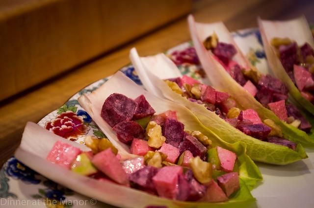 Scandinavian Waldorf Salad Cups