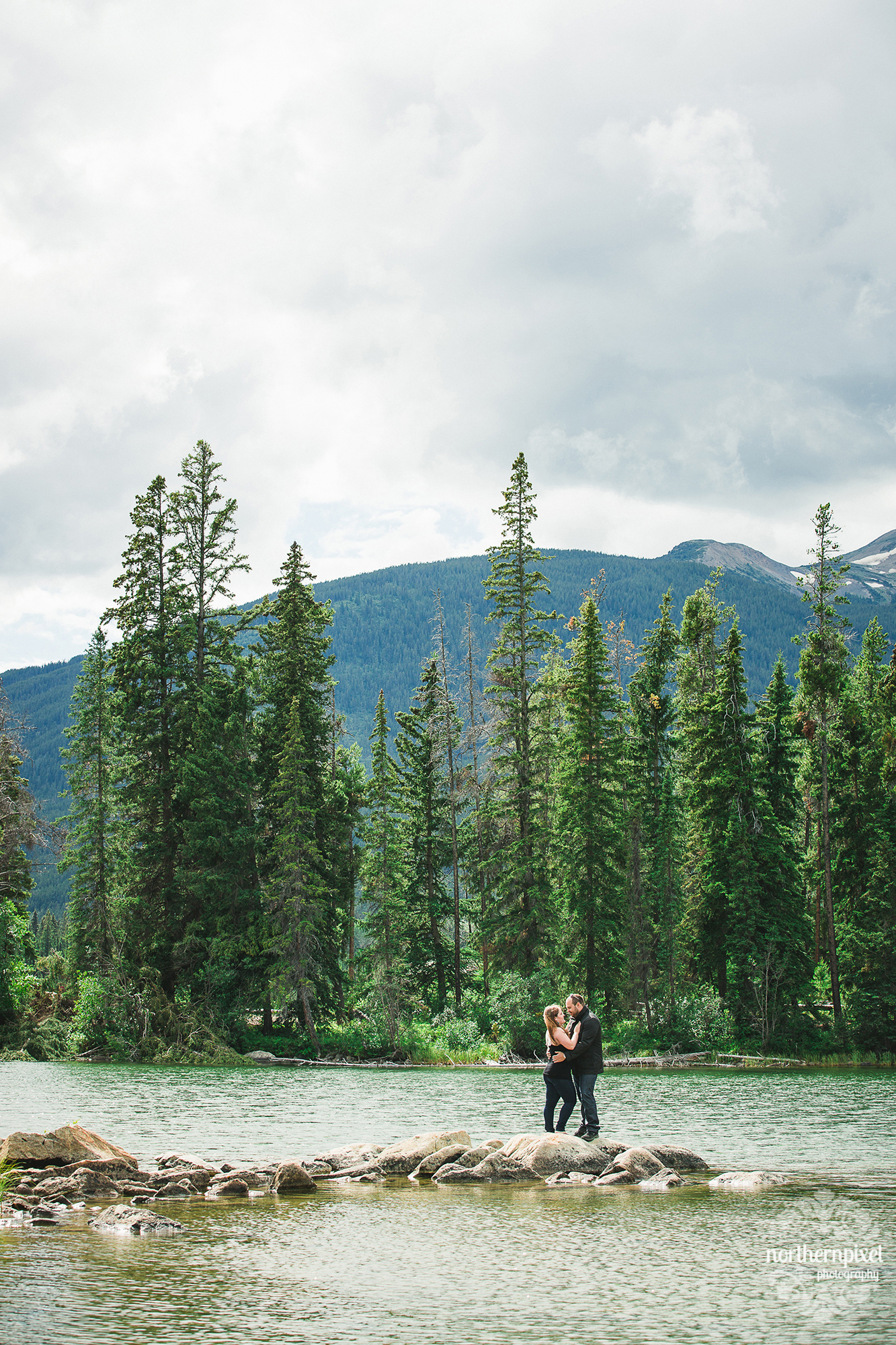 Jasper Engagement Session Photographer
