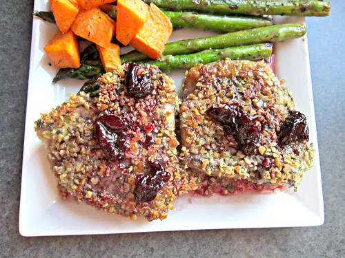 Lamb Chops with Cherry Port Sauce 007