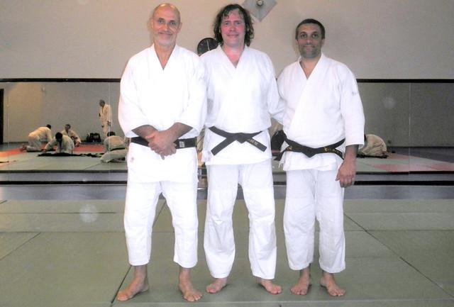 With Gouttard sensei and Vittorio sensei