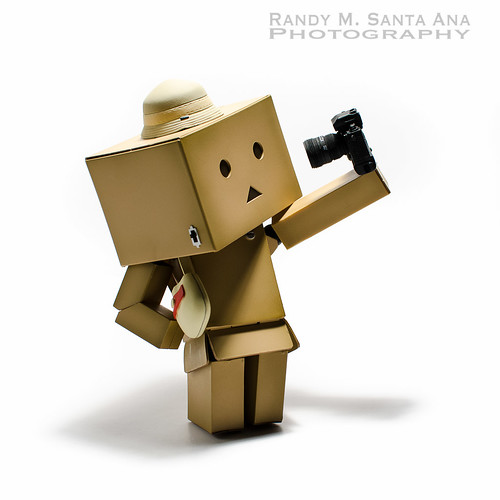 Danbo Tries New Fashion Style.