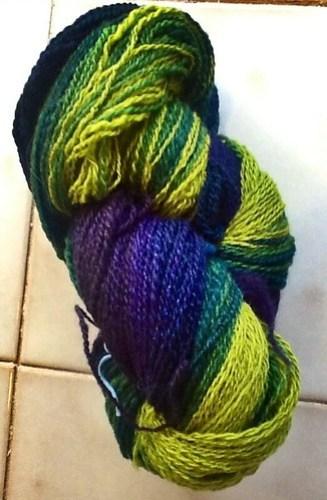 Gradient yarn