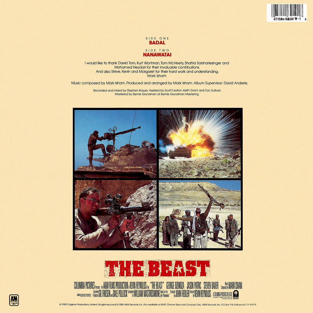 Mark Isham - The Beast b