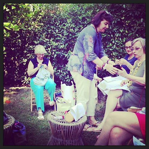 Chiacchiere #summer #carate #serialknitter #friend