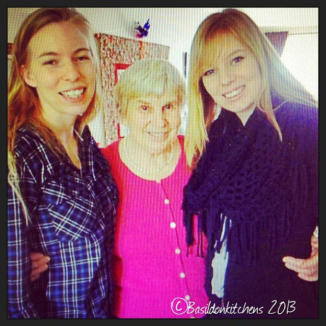 Oct 16 - grandmother {here are two of my daughters with my mom, their grandmother} #photoaday #grandmother #gramma #daughters #family